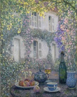 <span class=&#34;artist&#34;><strong>Henri Le Sidaner</strong></span>, <span class=&#34;title&#34;><em>La table de la maison fleurie</em>, 1928</span>