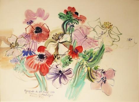 <span class=&#34;artist&#34;><strong>Raoul Dufy</strong></span>, <span class=&#34;title&#34;><em>An&#233;mones</em>, 29th April 1950</span>