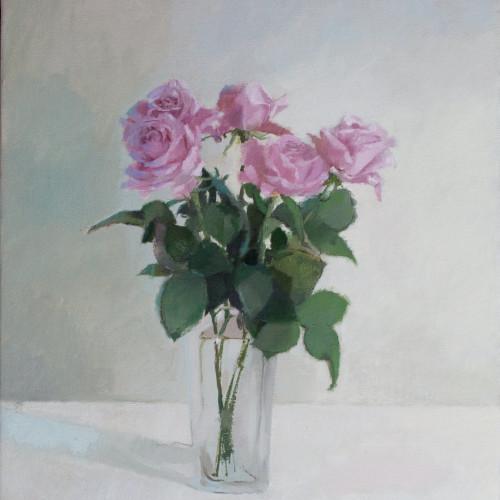 Ilaria Rosselli Del Turco - Five Pink Roses