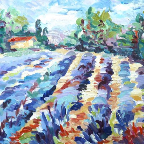Fi Katzler - Lavender near Bonnieux