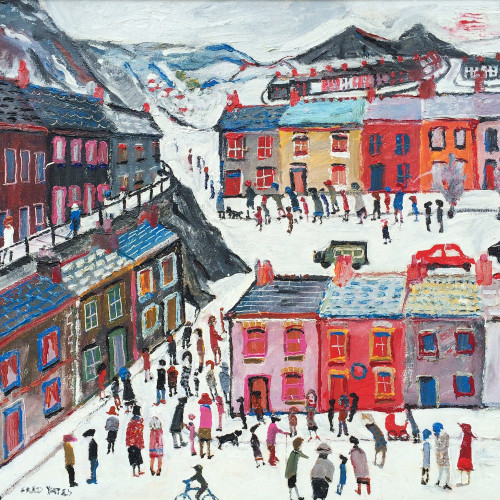 Fred Yates (1922 - 2008) - A Busy Morning