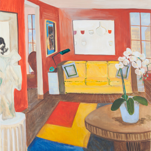 Lottie Cole - New York Interior - With William Scott, Robert Motherwell