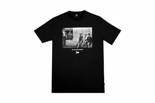 Amsterdam! Patta T-shirt [black, short sleeve]