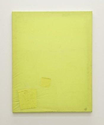 Ian Kiaer  Black tulip, squares, 2012  fluorescent plastic  55.9 x 71.1 cm / 22 x 28 ins