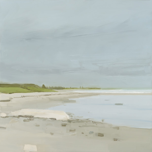 Sara MacCulloch - Beach on Cloudy Day