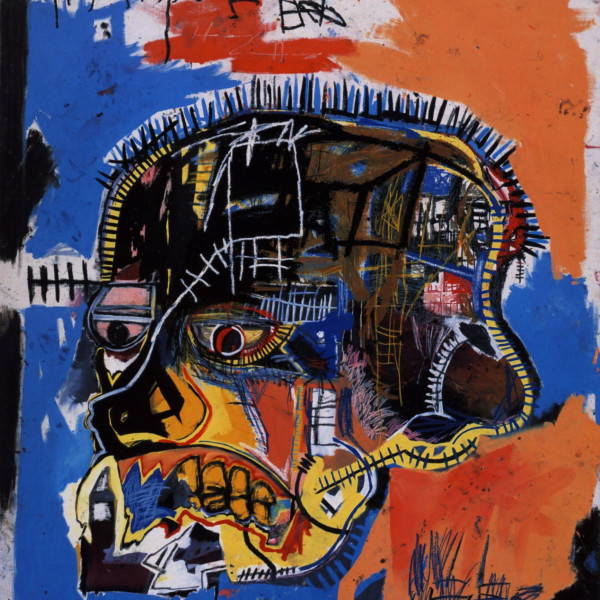 Jean Michel Basquiat - Scull