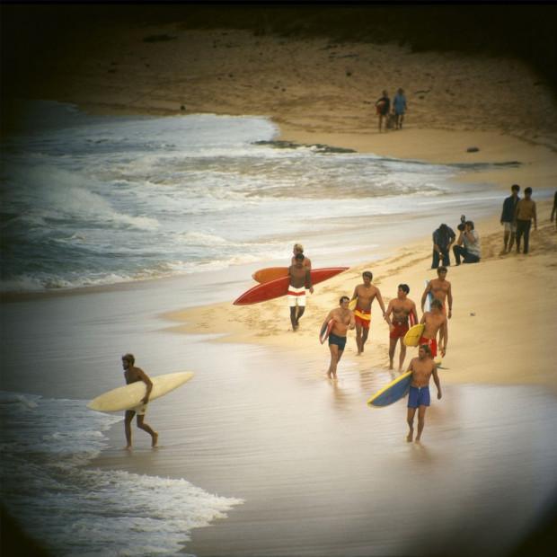 LeRoy Grannis - Duke Contest Finalists, Sunset Beach