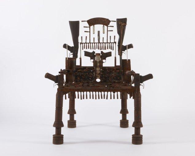 <em>The tip worker throne</em>, 2013