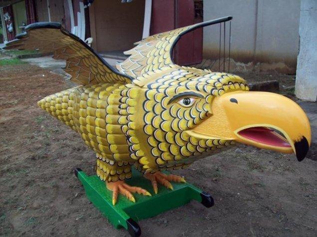 <em>Untitled (Golden African Eagle)</em>, 2010