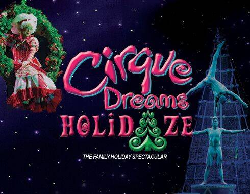 Cirque Christmas.Cirque Dreams Holidaze Arts Iowa