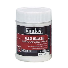 Liquitex Gloss Heavy Gel Medium 237ml