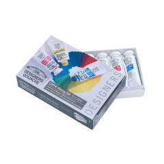 Winsor & Newton Gouache Colour - CMYK Mixing Set of 5
