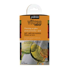 PEBEO Vitrea 160 Discovery Collection Set of 12 glossy