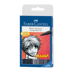 FC Pitt Artist Pen MANGA Set (8 shades of grey and black)
