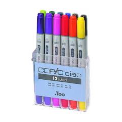 Copic Ciao Set 12 Assorted