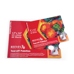 Reeves Tear Off Palette 12 x 16 inch