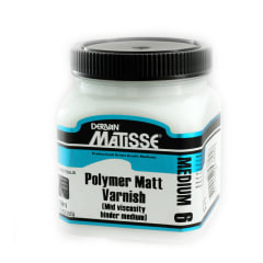 MATISSE MM6 250ML POLY MATT VARNISH