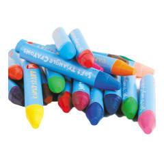 early stART Softies Tri-Grip Crayons Case of 24