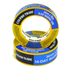 UniPro 14 Day Masking Tape 24mm x 50m