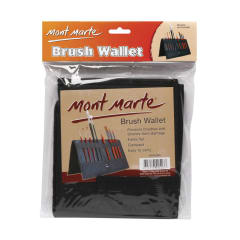 Mont Marte Folding Brush Wallet