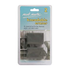 Mont Marte Kneadable Erasers 2pce