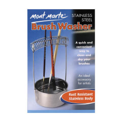 Mont Marte Stainless Steel Brush Washer