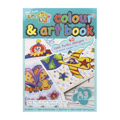 Mont Marte Creative Kids Colour and Art Book 30pge A3
