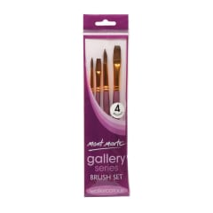 Mont Marte Gallery Series Brush Set Watercolour 4pce