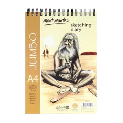 Mont Marte Jumbo Sketching Diary 100 Sht A4