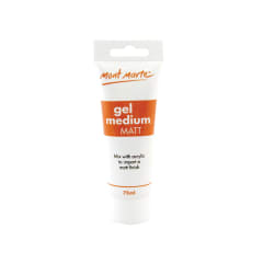 Mont Marte Gel Medium Matt 75ml