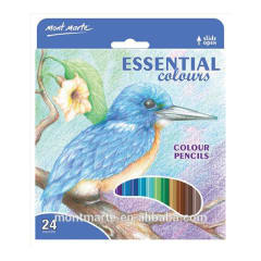 Mont Marte Colour Pencils 24pce - Essential Colours