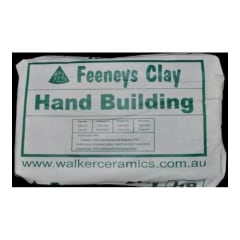Walker Handbuilding Earthenware Clay 10kg WHITE