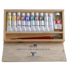 Art Spectrum OIL ARTISTS COLOUR WOOD BOX SET