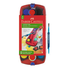 Faber-Castell Connector Paints 12 assorted