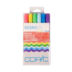 Copic Ciao Set 6 Brights