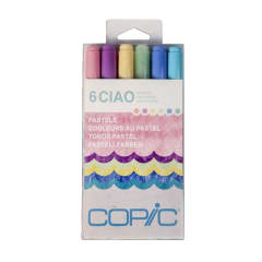 Copic Ciao Set 6 Pastels