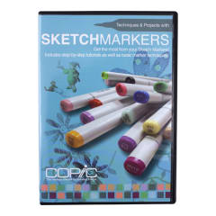 Copic DVD Tech & Projects With Sketch_