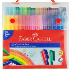 Faber-Castell Connector Pens Case of 30