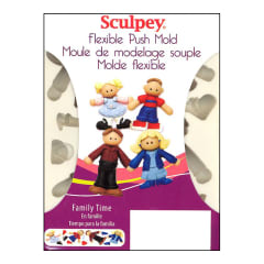 SCULPEY PUSH MOLD - FAMILY TIME
