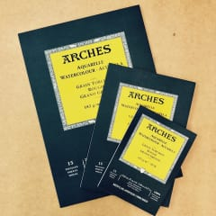 Arches Watercolour Pads 185gsm
