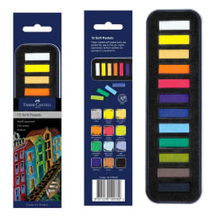 Faber-Castell Soft Pastel Tin of 12