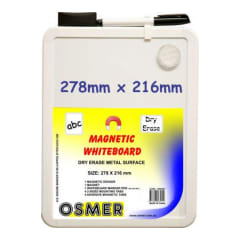 Osmer Magnetic Whiteboard 278 x 216mm