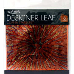 Mont Marte Designer Leaf - Copper Star Burst