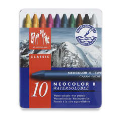 Caran DAche Neocolor II Watersoluble Wax Oil Pastel SETS