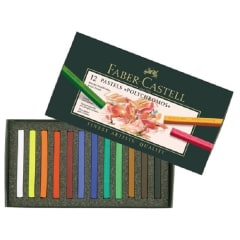 Faber-Castell Polychromos PASTELS 12 assorted