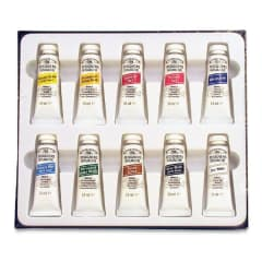 Winsor & Newton Gouache Colour - Introductory Set of 10