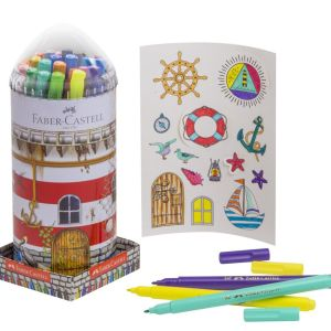 Faber-Castell Lighthouse Creative Marker Tin