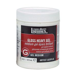 Liquitex Gloss Heavy Gel Medium 473ml