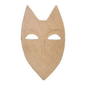 Zart Papier Mache Shield Face Mask_