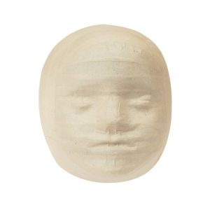 Zart Papier Mache Child Mask 13cm